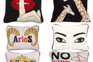My life story, in pillows.